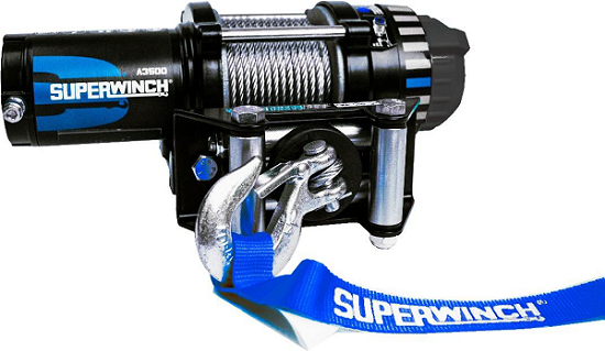 Winch for Farming, Hunting, Quad Biking, UTV and 4X4